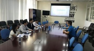 Viện Nghiên cứu Phát triển Tiêu chuẩn Chất lượng đã có buổi tham quan, đàm phán hợp tác cung cấp các dịch vụ của Viện với Công ty TNHH Midea Consumer Electric Vietnam